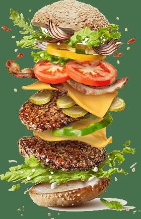 image hamburger